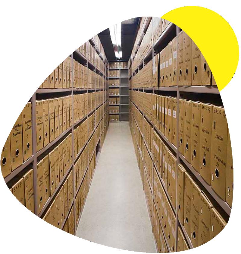 Gestión Documental - Almacenamiento de archivo